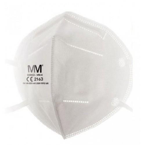 Mascherina Protettiva FFP2 Certificata - Confezione Da 25 Pezzi - Dispositivo Di Protezione Individuale DPI
